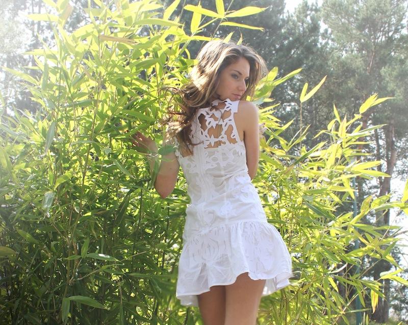 Zimmermann idyllic white applique dress dream create