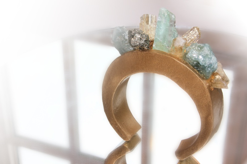 DIY Chanel/ Pamela Love Crystal Cuff